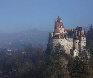 Castillo del Conde Drácula en Transilvania, Rumanía