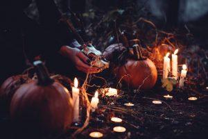 Celebración de Halloween en Derry.
