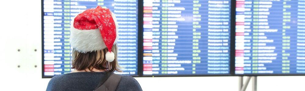 Viajar en Navidad